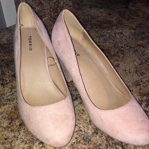 Nude/Blush heels